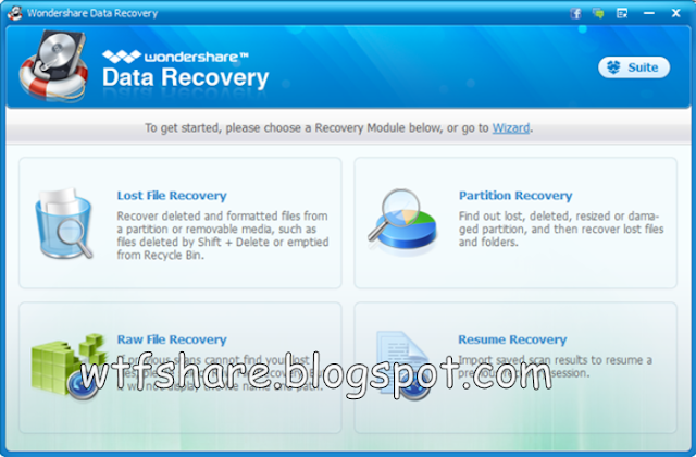 Wondershare Data Recovery New Version