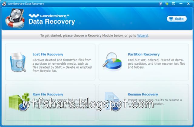 Wondershare Data Recovery New Version