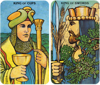 Morgan Greer Tarot King of Cups King of Swords