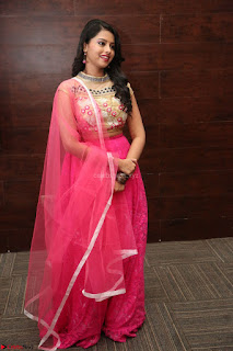 Geethanjali sizzles in Pink at Mixture Potlam Movie Audio Launch 041.JPG