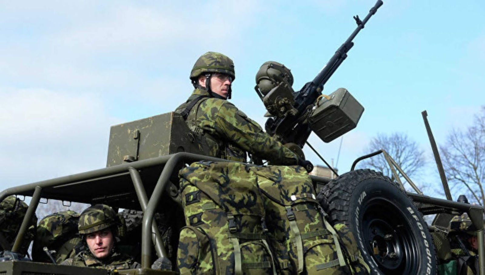 Angkatan Bersenjata Republik Ceko malu untuk menunjukkan peralatan lama mereka
