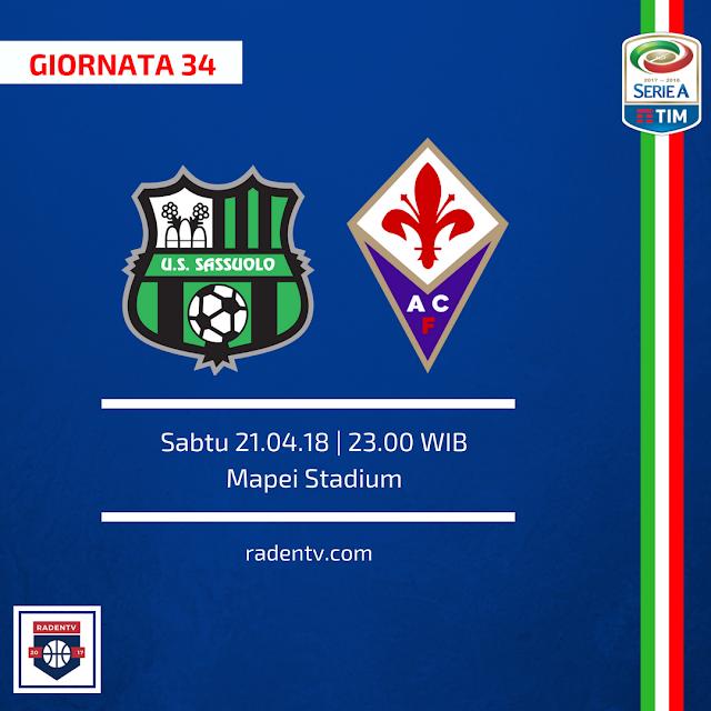 Sassuolo vs Fiorentina