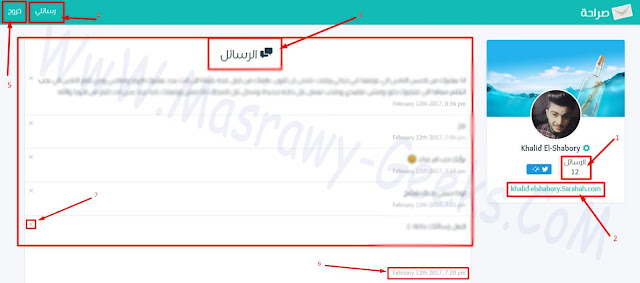 explain sarahah site register and use