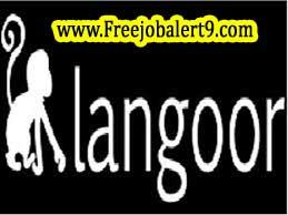 Langoor Recruitment 2017 Jobs for Freshers