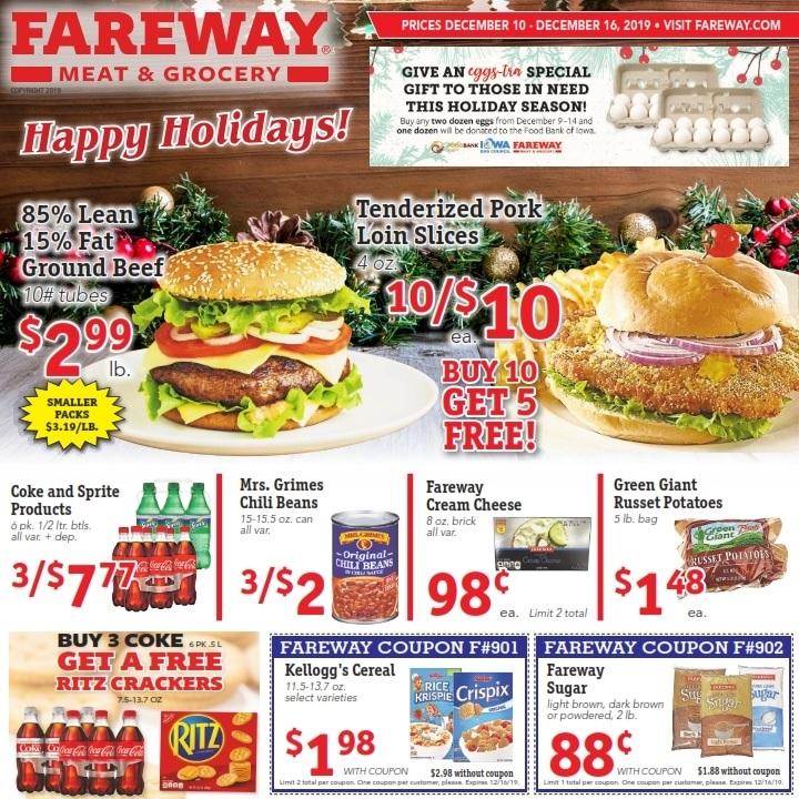 Fareway Weekly Ad