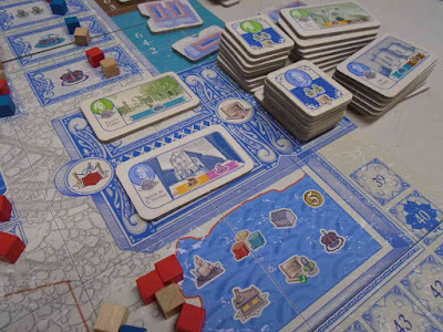Lisboa Boardgame Public Buildings