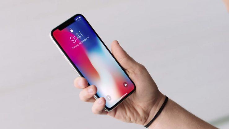آبل، iPhone X