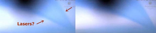 Strange Blue Beam in the sky over Mexico points to holographic laser technology?  Blue%2Bbeam%2Bholographic%2Blaser%2Btechnology%2B%25282%2529