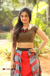 Telugu Actress Priyanka Pallavi Stills at Nenostha Release Press Meet  0172.JPG