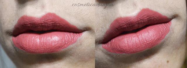 pink brown RIRE Lip Manicure High Fix set