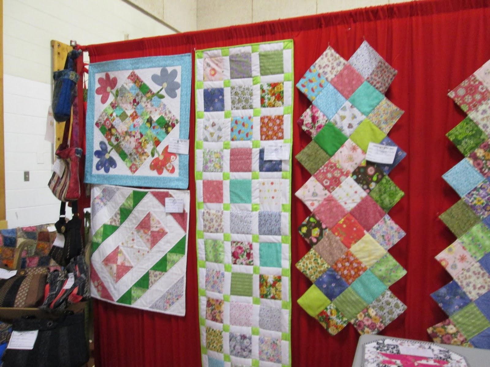 Quilt Guild Exchange Ideas : Sheila s Quilt World: Thistle quilt guild show