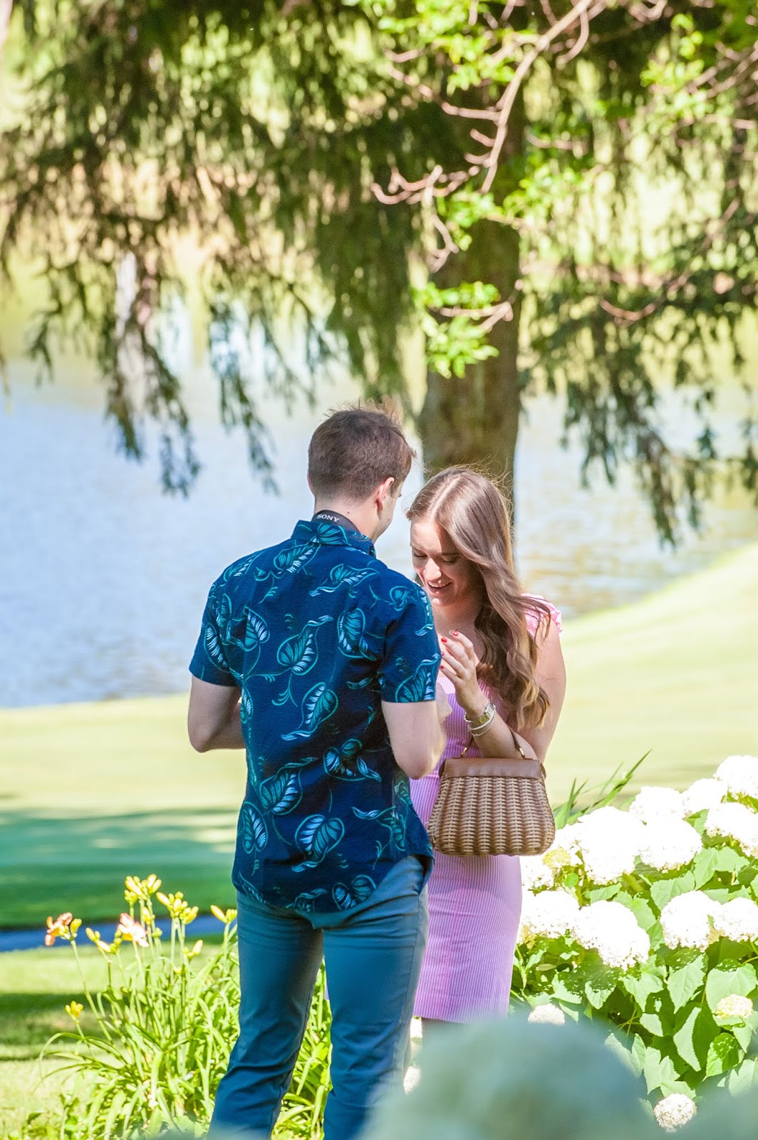Our Engagement Story featured by popular New York life and style blogger, Covering the Bases