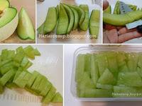 Resep Manisan Kulit Melon Madu, Camilan Anak Yang Segar dan Sehat
