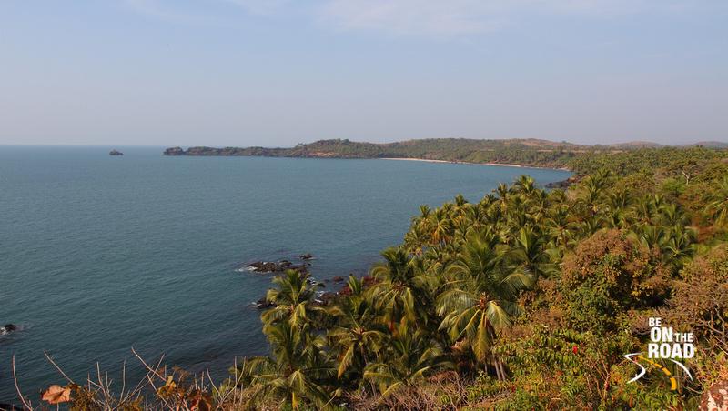 The sun is shining on South Goa's beautiful coastline