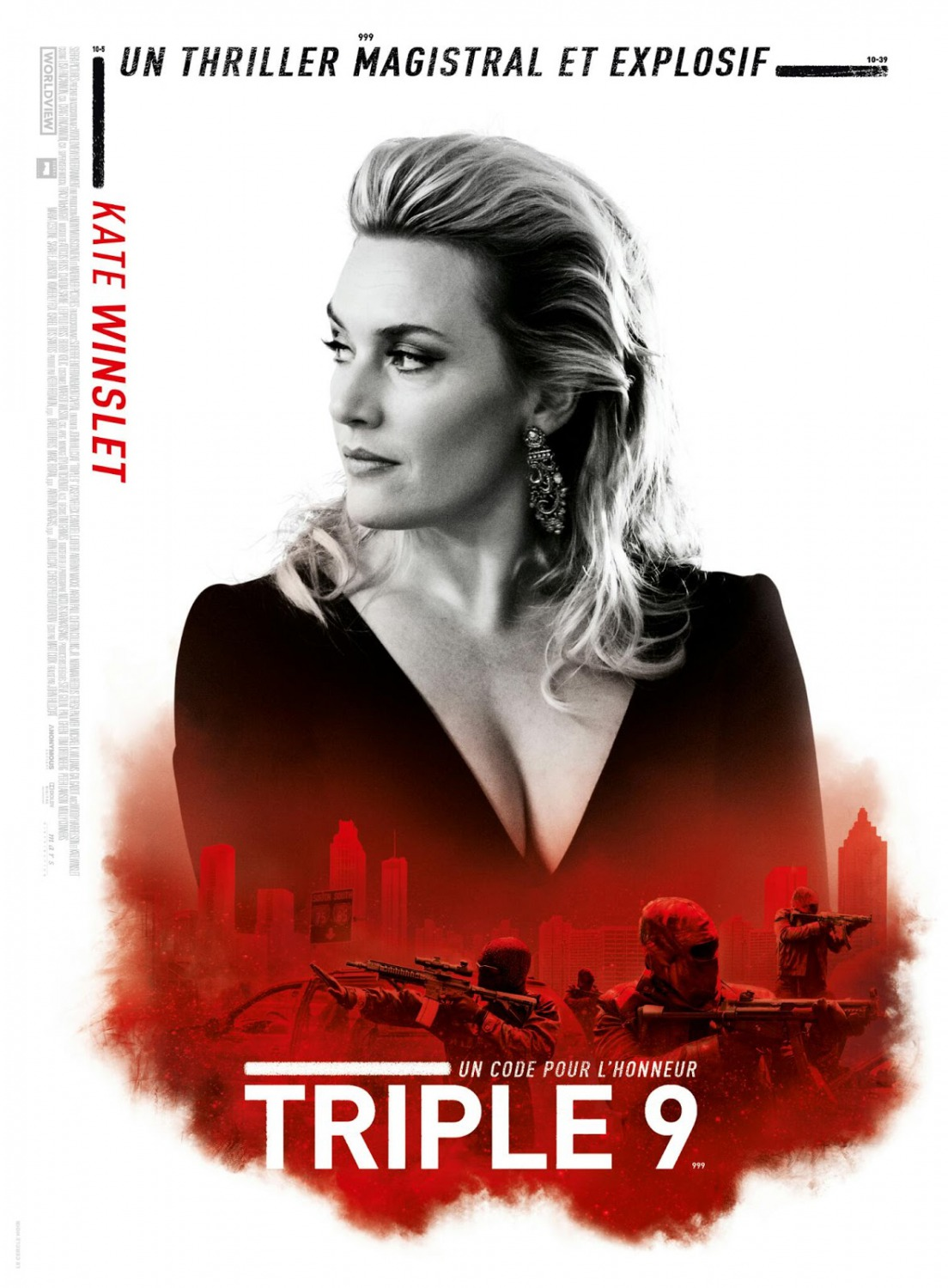 new triple 9 trailers and 29 posters the entertainment