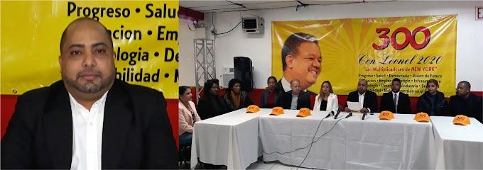 Movimiento 300 con Leonel apoya denuncia sobre campaña sucia del Gobierno y advierte líder no está solo