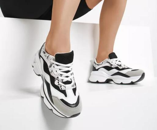 Adidasi la moda negri de femei ieftini model nou 2020
