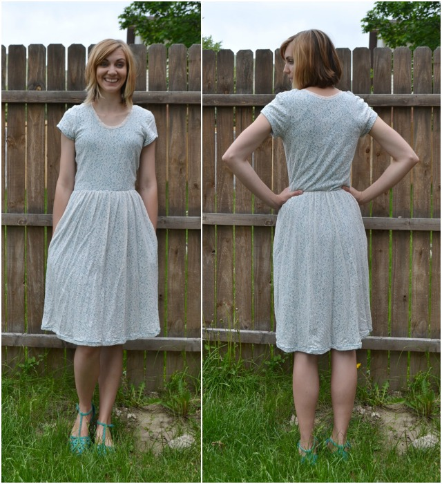 Me Made: Lace Out and About Dress