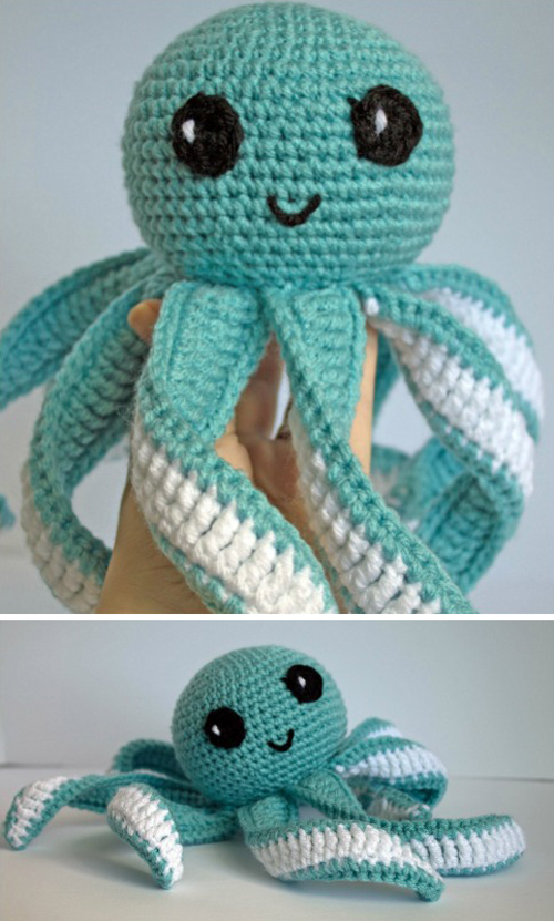 Amigurumi Octopus Baby Toy - Free Pattern