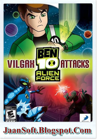 Download Next Ben 10 Alien Force PC Game 2016 Full Version
