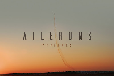 ailerons free font