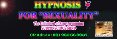 Hipnoterapi meningkatkan Gairah