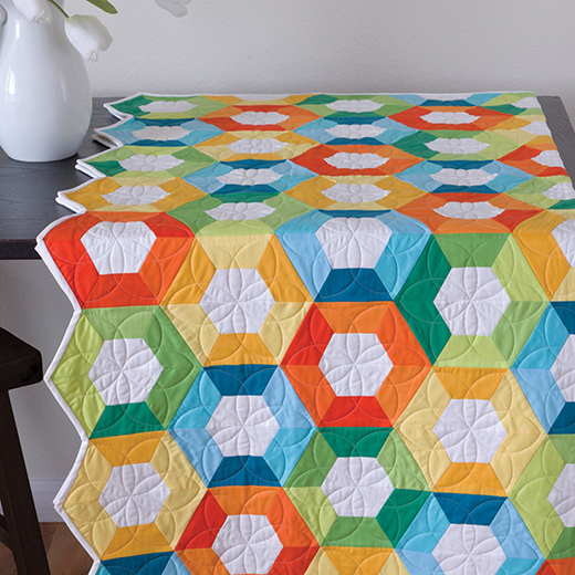 Morning Glory Blooms Quilt Free Pattern