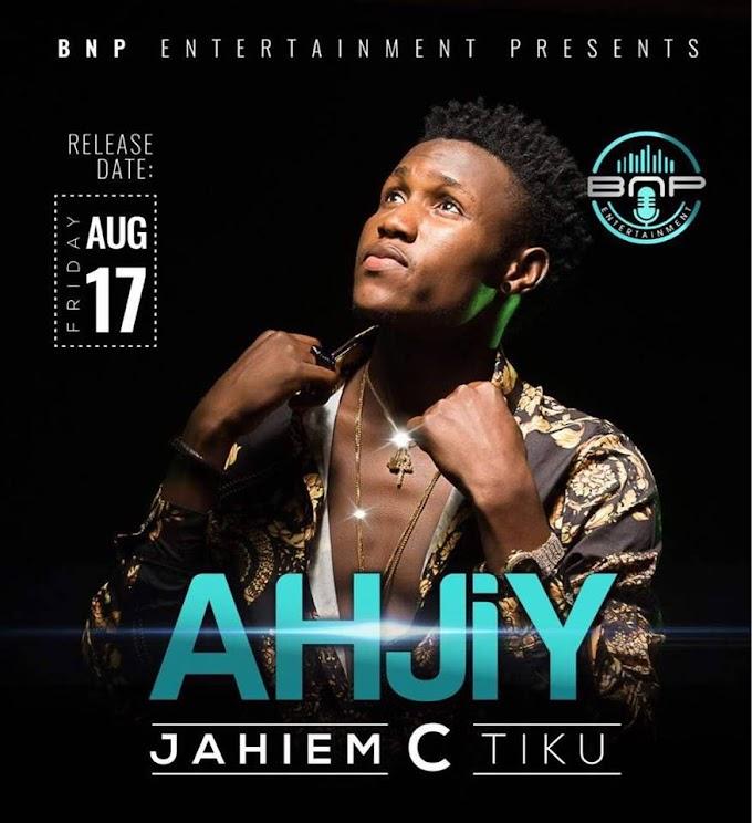JAHIEM C TIKU releases #AHJIY, the most Anticipated single