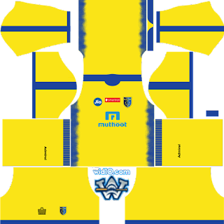Kerala Blasters FC  Dream League 2018  Kits ve Logo