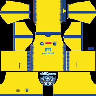 Kerala Blasters FC  Dream League 2018  Kits ve Logo