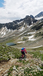 Vaude Bikerucksack im Ötztal