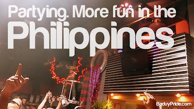 Partying. More Fun in the Philippines