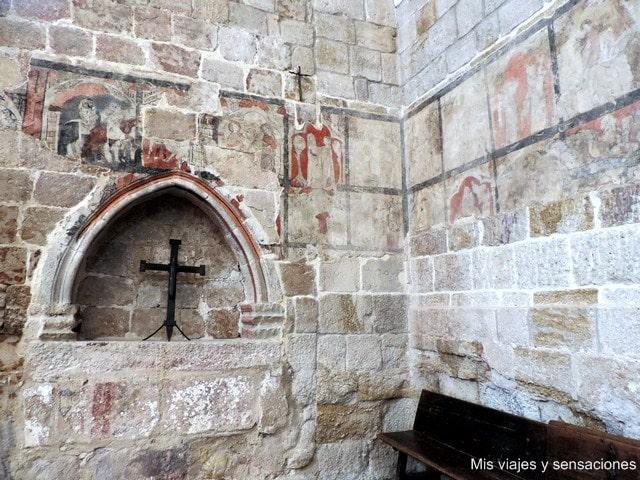 Pinturas murales, iglesia de Santa María la Nueva, Zamora, Castilla y León