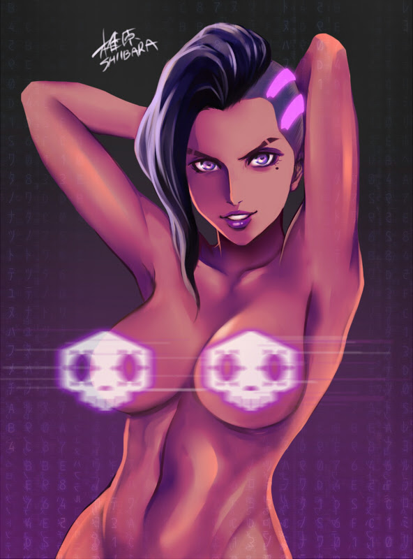 sombra hot fanart