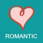 romantic book icon