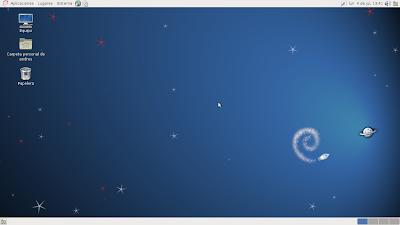 Gambar Desktop Debian