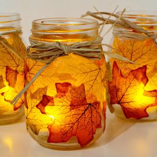 frascos con velas