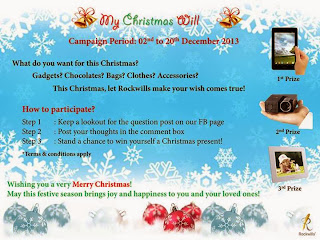 xmas+will - CONTEST - Win Gadgets as your Christmas present!