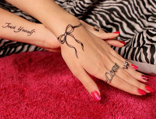 bilek dövmeleri bayan wrist tattoos for women 13