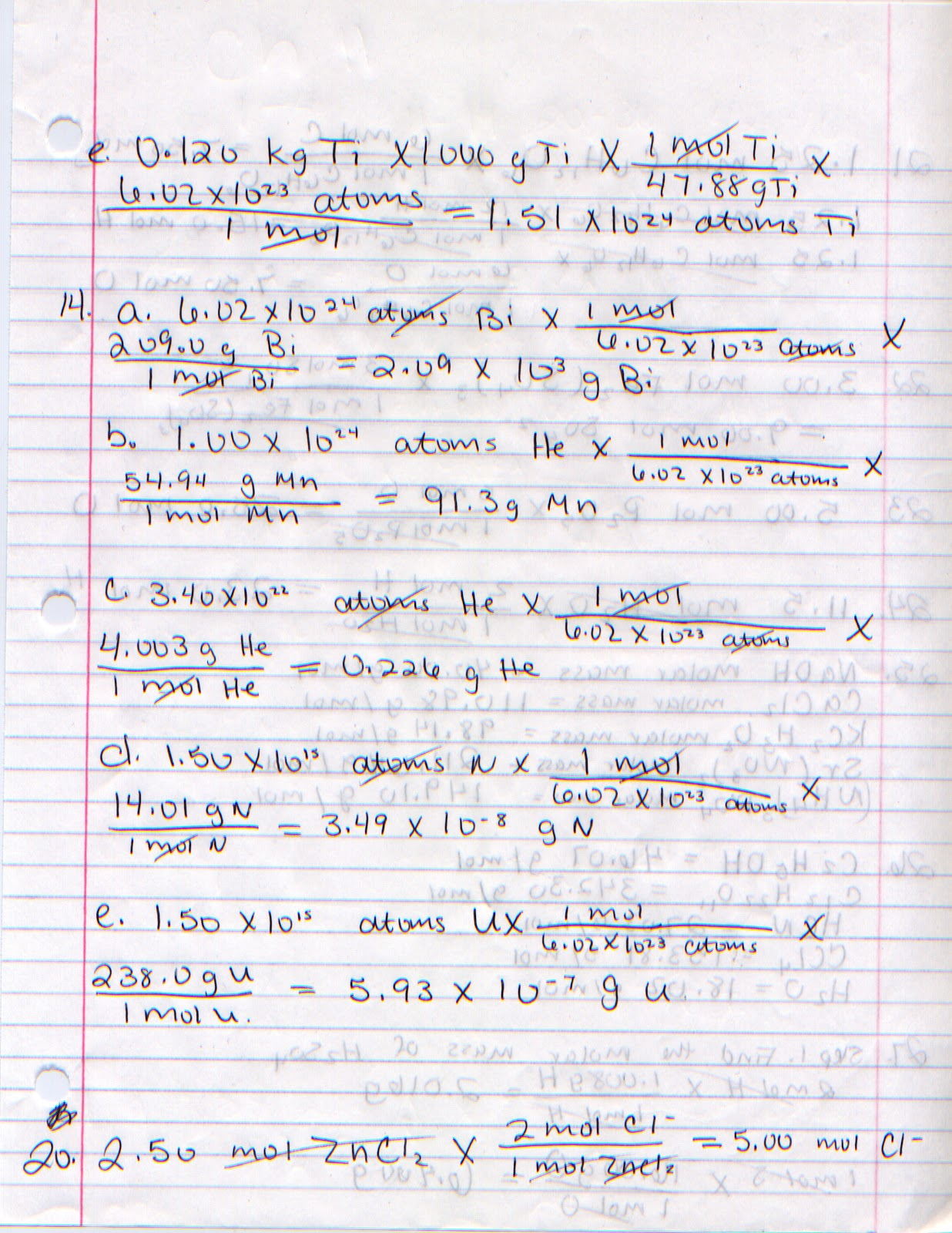 Kassidy S Penny S Chemistry Blog Mole Calculations