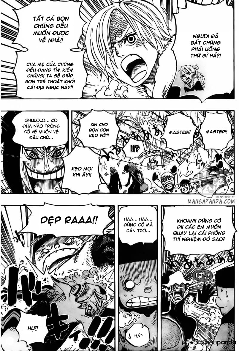 One Piece Chap 674