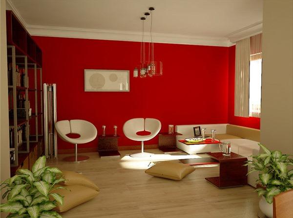 Hal Ini Membuat Warna Merah Co Digunakan Untuk Ruang Kantor Pribadi Atau Seni