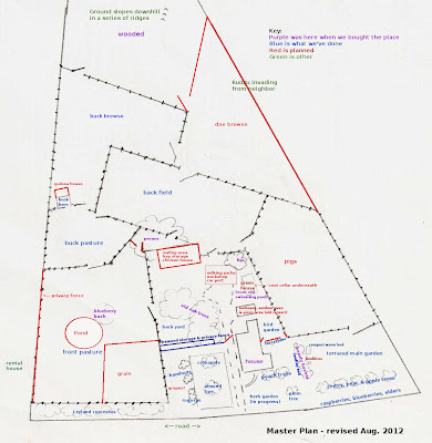 Revised homestead master plan for 2012
