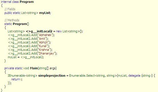 DOT NET TRICKS: Internals of LINQ