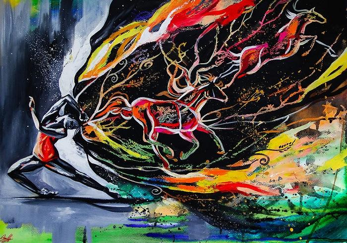 04-In-My-Mind-Vivien-Szaniszlo-Movement-Captured-with-the-Dancing-Ballerina-Paintings-www-designstack-co