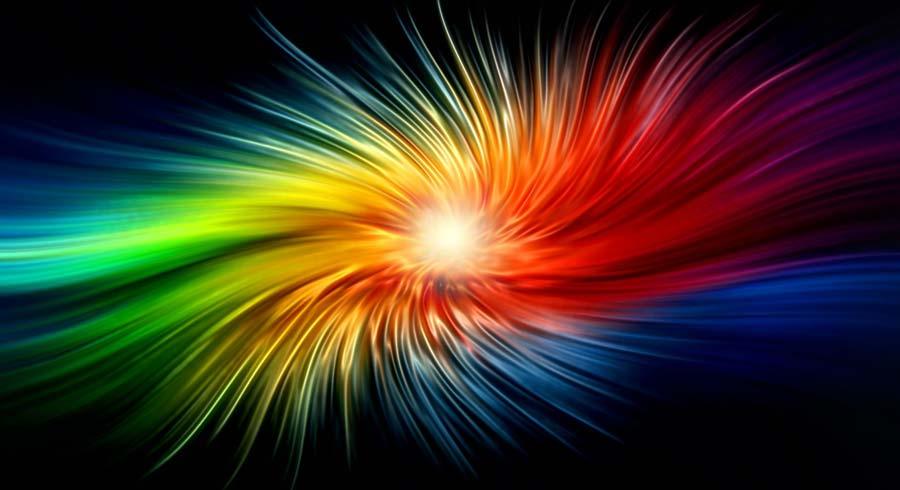 Test: ¿Dónde en  el espectro de luz está tu personalidad?