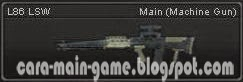 Senjata Point Blank L86 LSW