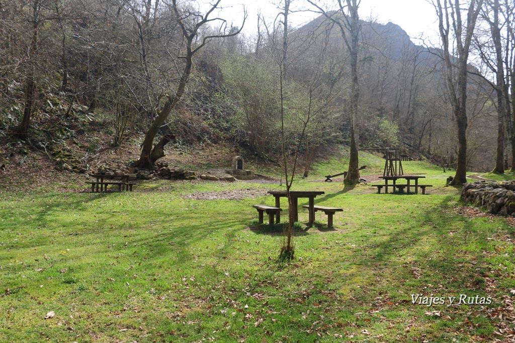 Área recreativa del Chorrón, Villamayor