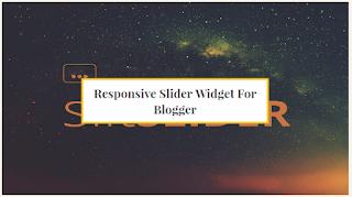 Responsive Slider Widget