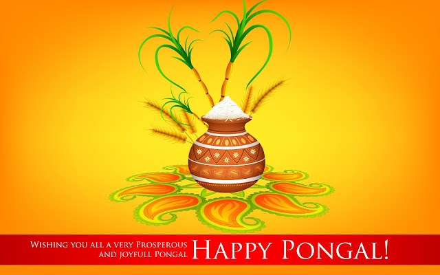 Happy Pongal HD Wallpapers Free Download